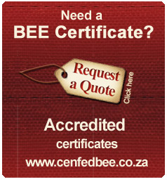 cenfedbee certificate request quotation